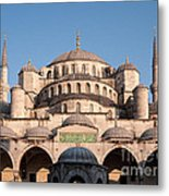 Blue Mosque Domes 01 Metal Print