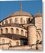 Blue Mosque Domes 05 Metal Print