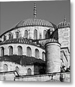 Blue Mosque Domes 06 Metal Print