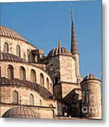 Blue Mosque Domes 08 Metal Print