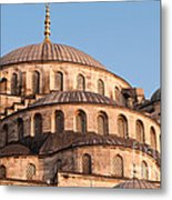 Blue Mosque Domes 09 Metal Print