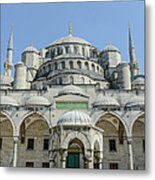 Blue Mosque In Istanbul Turkey Metal Print