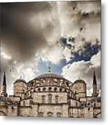 Blue Mosque Istanbul Metal Print
