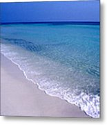 Blue Mountain Beach Metal Print