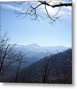 Blue Mountain Sky Metal Print
