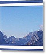 Blue Mountains Metal Print