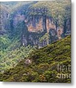 Blue Mountains Viewpoint Metal Print