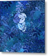 Blue - Natural Abstract Series Metal Print