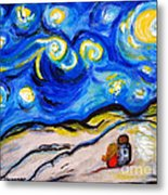 Blue Night Metal Print