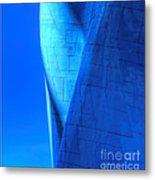 Blue On Blue Cropped Version Metal Print