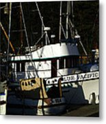 Blue Pacific Metal Print