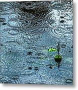 Blue Rain - Featured 3 Metal Print by Alexander Senin