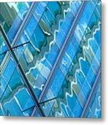 Blue Reflection 3 Metal Print