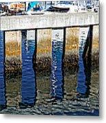 Blue Reflections Metal Print