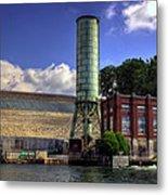 Blue Ridge Dam Metal Print