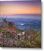 Blue Ridge Dawn Metal Print