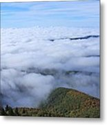 Blue Ridge Fog Metal Print