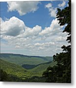 Blue Ridge Mountain Scenic - Craig County Va IIi Metal Print