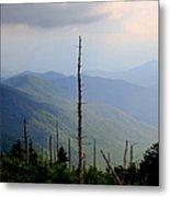 Blue Ridge Mountains Metal Print