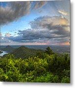 Blue Ridge Mountains Panorama Metal Print