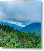 Blue Ridge Parkway National Park Sunrise Scenic Mountains Summer Metal Print