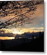 Blue Ridge Parkway Sunrise Metal Print