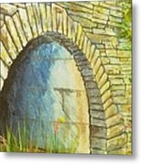 Blue Ridge Tunnel Metal Print