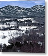 Blue Ridge Vista Metal Print