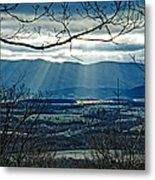 Blue Ridge Winter Solstice 2012 Metal Print