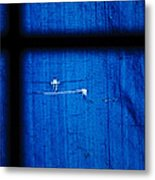 Blue Shade Metal Print