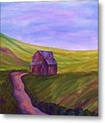 Blue Skies In The Hill Country Metal Print