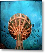 Blue Sky Swings Metal Print