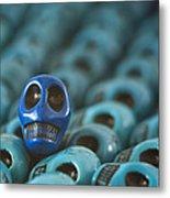 Blue Smile Metal Print
