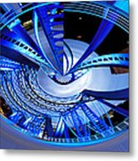 Blue Steel Metal Print