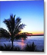 Blue Sunrise Metal Print