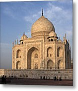 Taj Mahal In Evening Light Metal Print