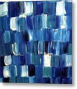 Blue Thing Metal Print