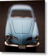 Blue Toy Car Metal Print