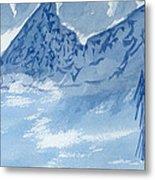 Blue View #2 Metal Print