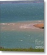 Blue Water Wilson Lake Metal Print