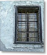 Blue Window/piran Metal Print