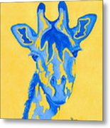 Bluebelle Metal Print