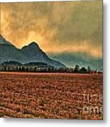 Blueberry Fields Metal Print