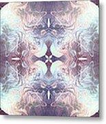 Bluelight Cross Metal Print