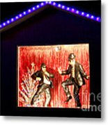 Blues Brothers Tribute Metal Print