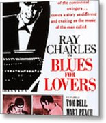 Blues For Lovers, Aka Ballad In Blue Metal Print