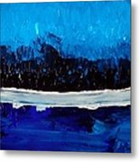 Blues Metal Print