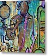 Blues Jazz Club Series Metal Print
