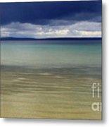 Beautiful Blues Over Mackinac Island  Metal Print