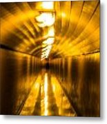 Blur Tunnel Metal Print
